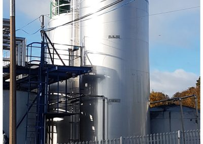 sucrose storage tanks 1